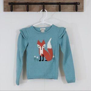 Matilda Jane fox sweater girl's size 10